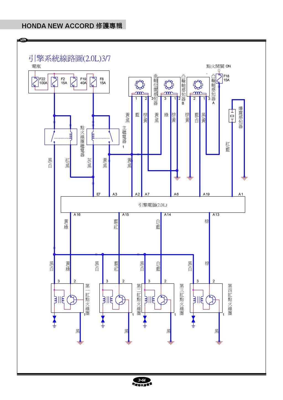 系统线路图 十二,保险丝与继电器盒 1.